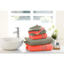 8-delige handdoekenset Corail