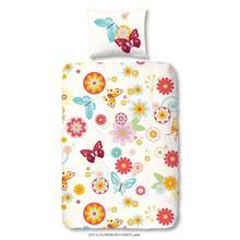 Parure housse de couette Flowers Butterfly