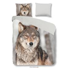 Parure housse de couette Loup