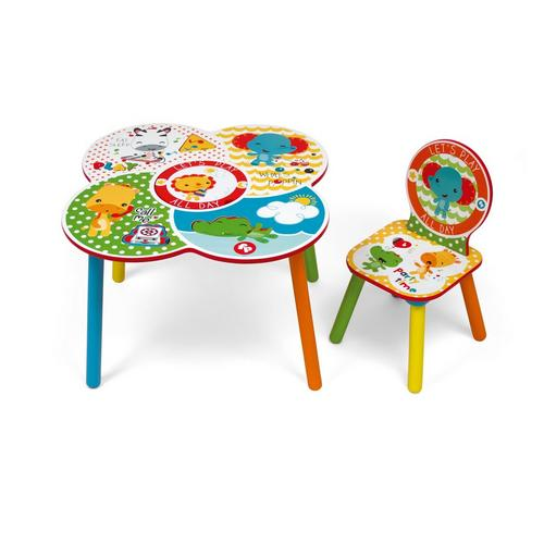 Ensemble table à jouer + siège FISHER-PRICE