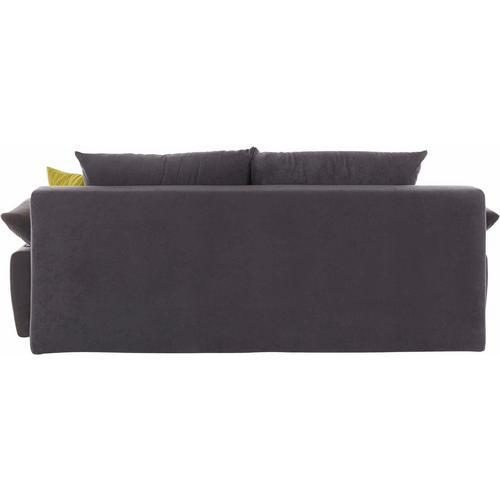 Canapé-lit en microvelours
