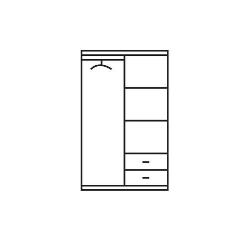 2-deurskleerkast