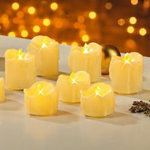 Set van 10 led-kaarsen EASYMAXX