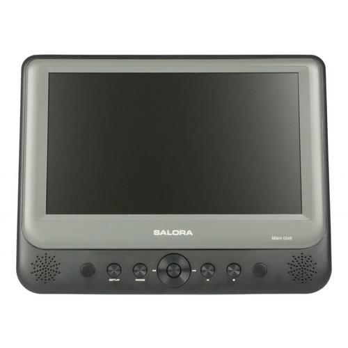 Set van 2 draagbare dvd-spelers SALORA DVP9948DUO
