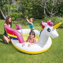 Zwembad magische eenhoorn met fontein INTEX