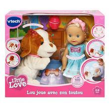 Little Love Lou joue avec son toutou VTECH