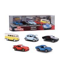 5-delige set vintage auto's MAJORETTE