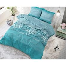 Parure housse de couette Comfort Night Turquoise