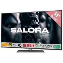 TV LED Ultra HD/4K smart 140 cm SALORA 55UHX4500