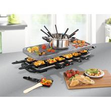 Raclette/fondue/gril/pierre à griller GOURMETMAXX
