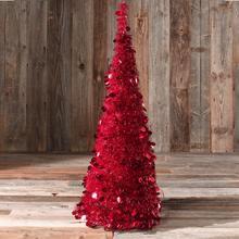 Kerstboom Lametta