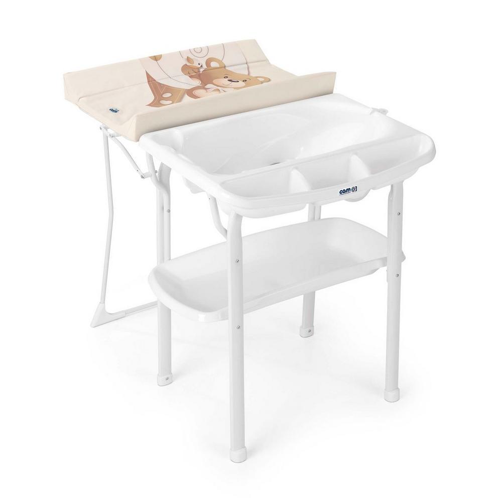 Table À Langer Petite table à langer avec baignoire aqua spa cam - soin de bébé