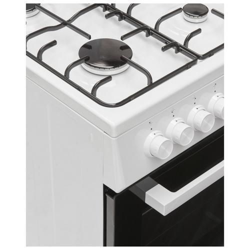 Cuisinière à gaz avec four au gaz naturel BEKO FSG 52020 DW