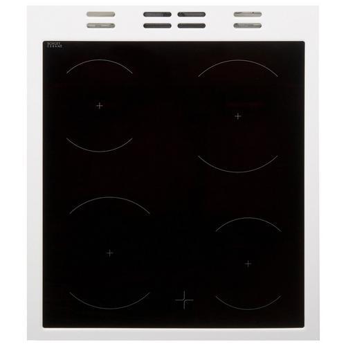 Cuisinière vitrocéramique avec four BEKO FSM 57100 GW