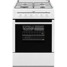 Cuisinière à gaz + four électrique AEG 41986GT-WN