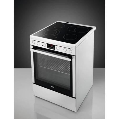 Vitrokeramisch fornuis met oven AEG CCB6640ABW