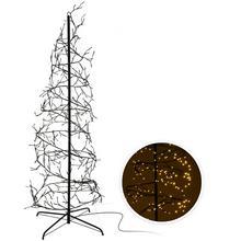 Arbre à spirale avec éclairage LED
