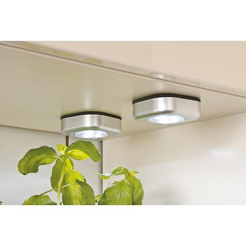 Set van 3 draadloze led-lampjes