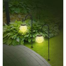 Set van 2 led-solarlampen