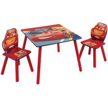 Table + 2 chaises pour enfants Cars