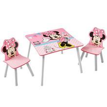Table + 2 chaises pour enfants Minnie Mouse