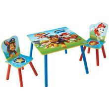 Table + 2 chaises pour enfants La Pat' Patrouille