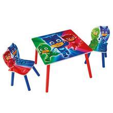 Table + 2 chaises pour enfants Les Pyjamasques