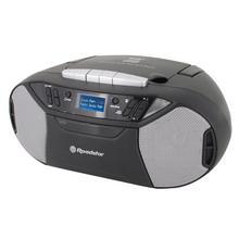Radio/lecteur CD/lecteur cassette portable ROADSTAR RCR-777UD+