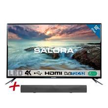 Ultra HD/4K led-tv 127 cm + soundbar SALORA