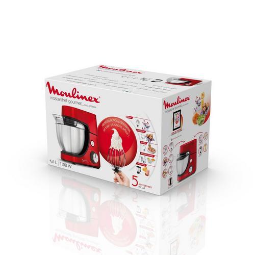 Keukenrobot Masterchef Gourmet MOULINEX QA512G10