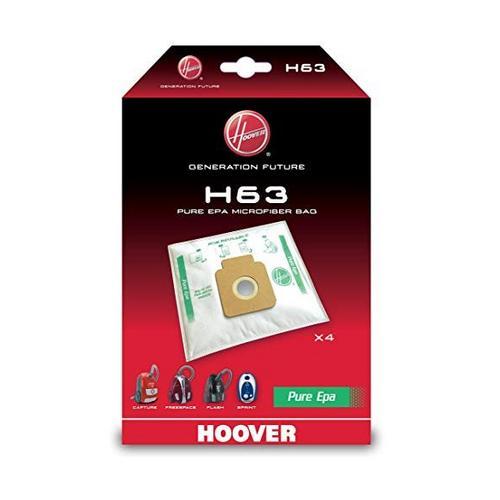 Set van 4 stofzakken H63 Pure Epa HOOVER