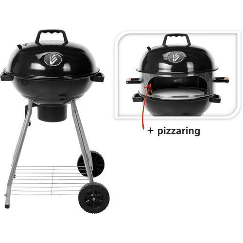 Barbecue avec anneau pour pizzas