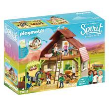 PLAYMOBIL® 70118 Grange avec Lucky, Apo et Abigaëlle de PLAYMOBIL
