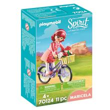PLAYMOBIL® 70124 Maricela et bicyclette de PLAYMOBIL