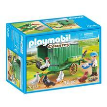 PLAYMOBIL® 70138 Enfant et poulailler