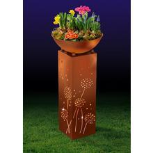 Colonne LED avec jardinière EASYMAXX