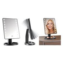 Miroir avec éclairage LED