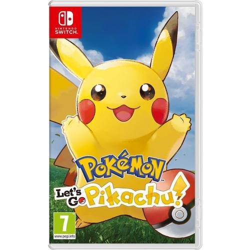 Jeu Pokémon : Let's Go, Pikachu pour Nintendo Switch