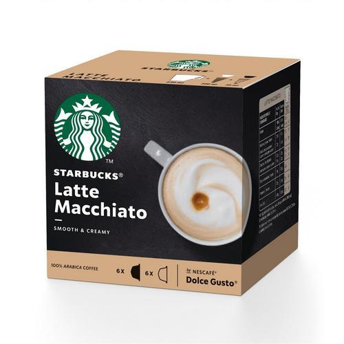 2 boîtes de Latte Macchiato STARBUCKS® DOLCE GUSTO