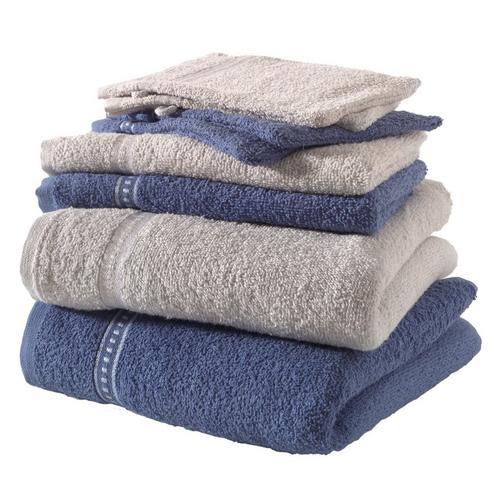8-delige handdoekenset Lavendel