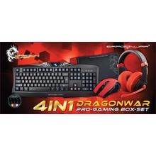 Set gaming Dragon War 4 en 1