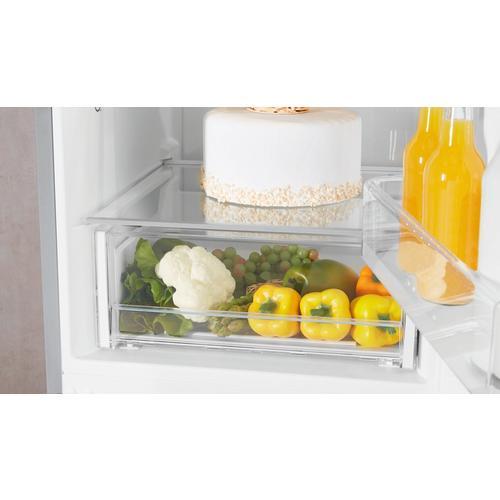 Combiné réfrigérateur congélateur 339 l INDESIT XIT8 T2E X