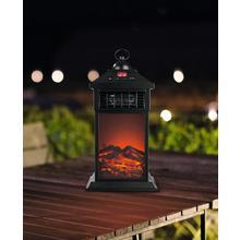 Lanterne LED électrique avec fonction de chauffage EASYMAXX
