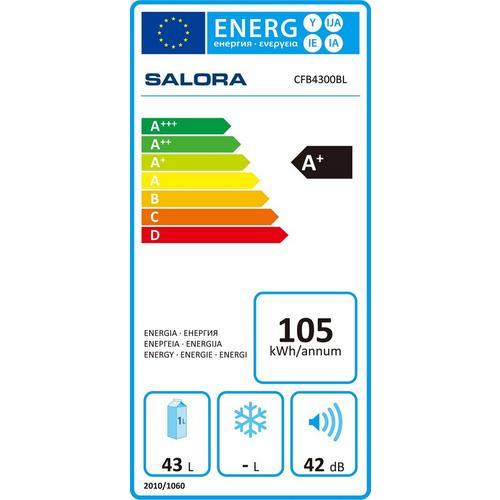 Compacte koelkast SALORA CFB4300BL