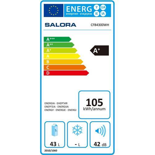 Compacte koelkast SALORA CFB4300WH
