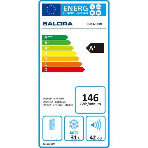 Congélateur compact SALORA FRB3200BL