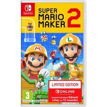 Jeu Super Mario Maker 2 pour Nintendo Switch + Nintendo Switch Online (édition limitée)