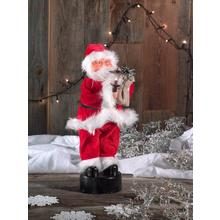 Père Noël dansant
