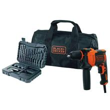 Perceuse-visseuse à percussion BLACK+DECKER BEH710SA32-QS