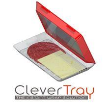 Set van 2 schalen 'Clever Tray'